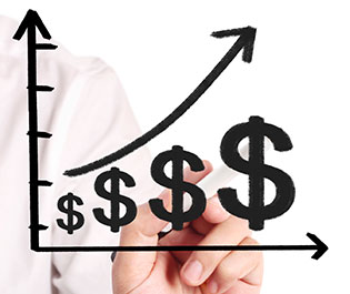 WI-3-25 - Financial Advisor Creating Graph About Finances